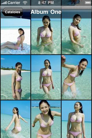 Please. She's bikini app for ipod touch